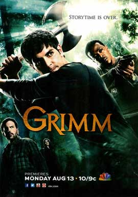 Grimm (TV) - 11 x 17 TV Poster - Style B