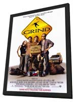 Grind - 11 x 17 Movie Poster - Style A - in Deluxe Wood Frame