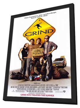 Grind - 27 x 40 Movie Poster - Style A - in Deluxe Wood Frame