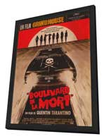 Grindhouse - 11 x 17 Movie Poster - French Style A - in Deluxe Wood Frame