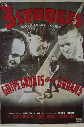 Grips, Grunts and Groans - 11 x 17 Movie Poster - Style A