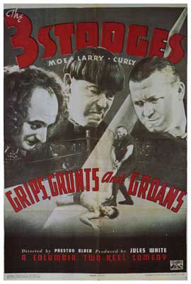 Grips, Grunts and Groans - 27 x 40 Movie Poster - Style A