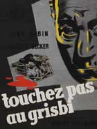 Grisbi - 11 x 17 Movie Poster - French Style B