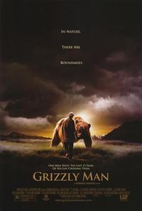 Grizzly Man - 43 x 62 Movie Poster - Bus Shelter Style A