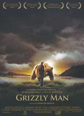 Grizzly Man - 11 x 17 Movie Poster - Danish Style A