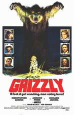 Grizzly - 11 x 17 Movie Poster - Style A