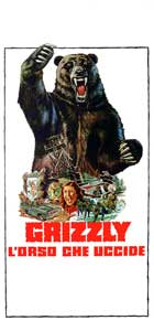 Grizzly - 13 x 26 Movie Poster - Italian Style A
