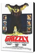 Grizzly - 27 x 40 Movie Poster - Style A - Museum Wrapped Canvas