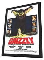 Grizzly - 11 x 17 Movie Poster - Style A - in Deluxe Wood Frame