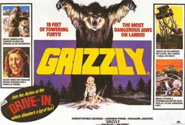 Grizzly - 11 x 14 Movie Poster - Style A
