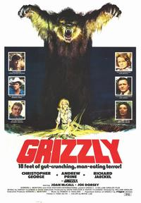 Grizzly - 43 x 62 Movie Poster - Bus Shelter Style A