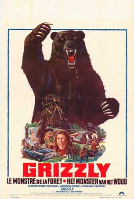 Grizzly - 11 x 17 Movie Poster - Belgian Style A