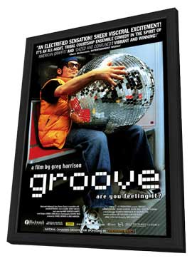 Groove - 11 x 17 Movie Poster - Style A - in Deluxe Wood Frame