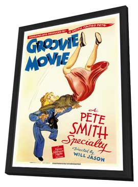 Groovie Movie - 11 x 17 Movie Poster - Style A - in Deluxe Wood Frame