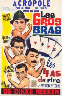 Gros bras, Les - 27 x 40 Movie Poster - Belgian Style A