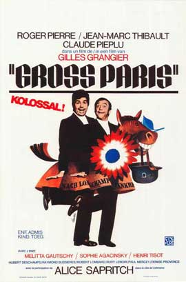 Gross Paris - 11 x 17 Movie Poster - Belgian Style A