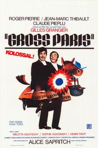 Gross Paris - 27 x 40 Movie Poster - Belgian Style A