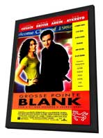 Grosse Pointe Blank - 27 x 40 Movie Poster - Style A - in Deluxe Wood Frame