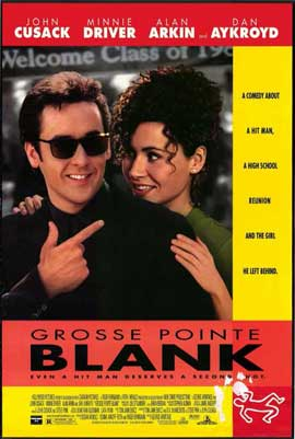 Grosse Pointe Blank - 11 x 17 Movie Poster - Style B