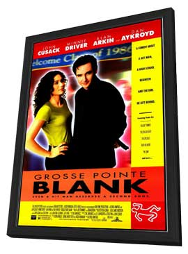 Grosse Pointe Blank - 11 x 17 Movie Poster - Style A - in Deluxe Wood Frame