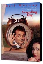 Groundhog Day - 11 x 17 Movie Poster - Style A - Museum Wrapped Canvas