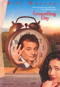 Groundhog Day - 43 x 62 Movie Poster - Bus Shelter Style A