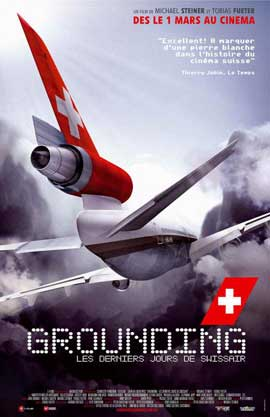 Grounding: The Last Days of Swissair - 11 x 17 Movie Poster - French Style A