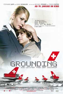 Grounding: The Last Days of Swissair - 11 x 17 Movie Poster - Swiss Style B