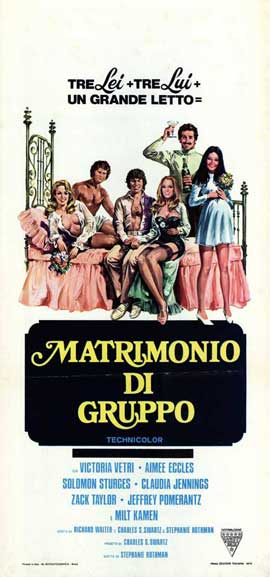 Group Marriage - 13 x 28 Movie Poster - Italian Style A