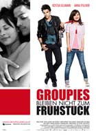 Groupies bleiben nicht zum Fruhstuck - 27 x 40 Movie Poster - German Style A