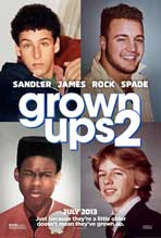 Grown Ups 2 - 11 x 17 Movie Poster - Style A