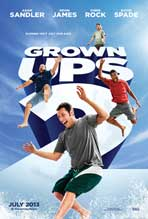 Grown Ups 2 - 11 x 17 Movie Poster - Style B