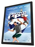 Grown Ups 2 - 11 x 17 Movie Poster - Style B - in Deluxe Wood Frame