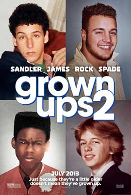 Grown Ups 2 - 27 x 40 Movie Poster - Style A