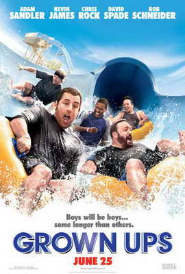 Grown Ups - 11 x 17 Movie Poster - Style B