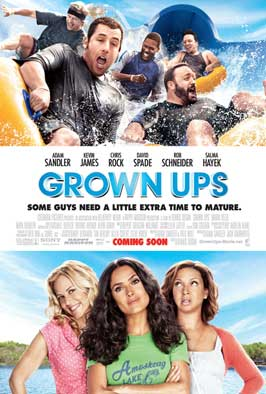 Grown Ups - 11 x 17 Movie Poster - Style A - Double Sided