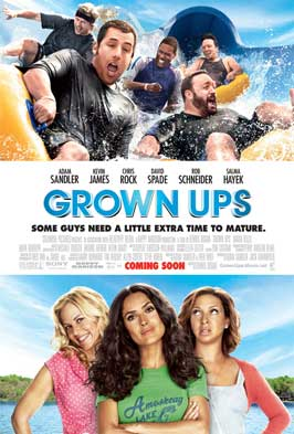 Grown Ups - 27 x 40 Movie Poster - Style B