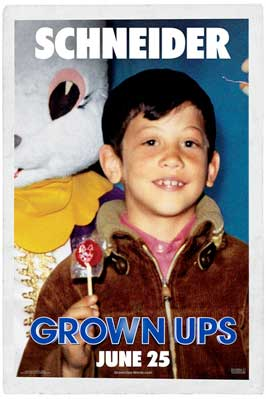 Grown Ups - 11 x 17 Movie Poster - Style D