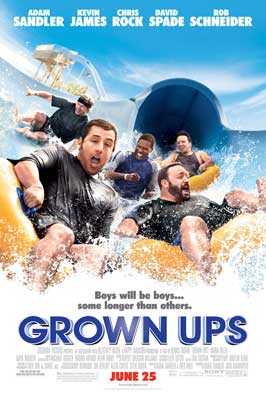 Grown Ups - DS 1 Sheet Movie Poster - Style B