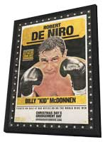 Grudge Match - 11 x 17 Movie Poster - Style H - in Deluxe Wood Frame