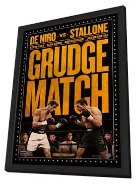 Grudge Match - 11 x 17 Movie Poster - Style A - in Deluxe Wood Frame