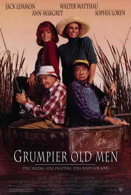 Grumpier Old Men - 11 x 17 Movie Poster - Style A