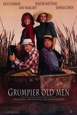 Grumpier Old Men - 27 x 40 Movie Poster - Style A