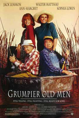 Grumpier Old Men - 11 x 17 Movie Poster - French Style A