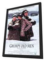 Grumpy Old Men - 11 x 17 Movie Poster - Style A - in Deluxe Wood Frame