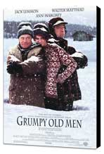 Grumpy Old Men - 11 x 17 Movie Poster - Style A - Museum Wrapped Canvas