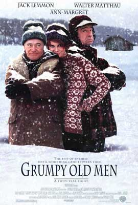 Grumpy Old Men - 27 x 40 Movie Poster - Style A