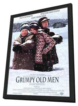 Grumpy Old Men - 27 x 40 Movie Poster - Style A - in Deluxe Wood Frame