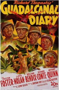 Guadalcanal Diary - 11 x 17 Movie Poster - Style A