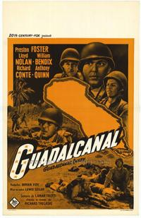 Guadalcanal Diary - 11 x 17 Movie Poster - Belgian Style A